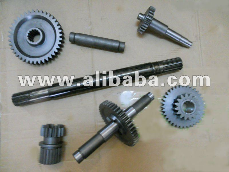Kubota combine harvester spare parts, shafts, gears