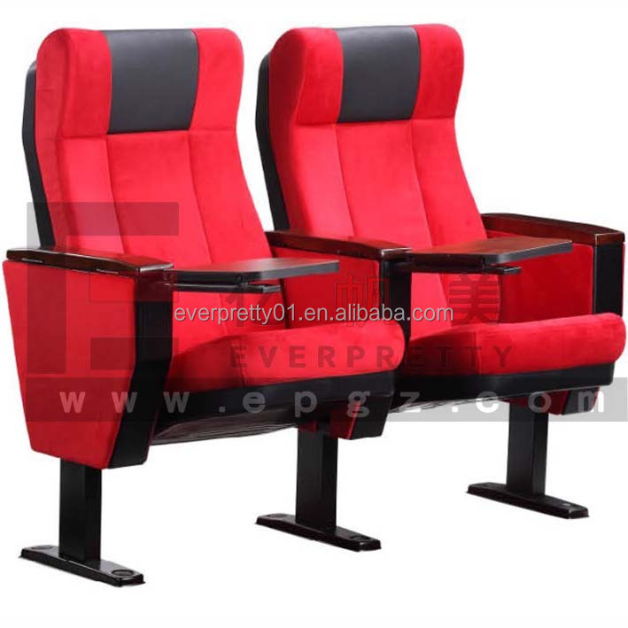 cheap and hot sale theatre chairs folding cinema hall chair