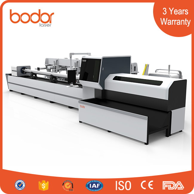 china factory best-sell 5kw 20-200mm tube laser cutting machine with atomatic loading and unloading system and 3 Years Warranty