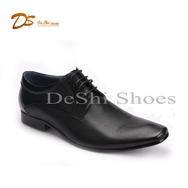 Wholesale customized man genuine leather fashion dress shoes