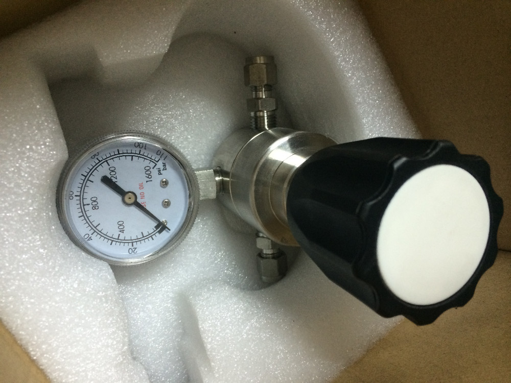 SS material liquid back pressure regulator