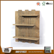 Natural wooden shelf manufacturer popular shelf