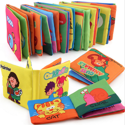High Quantity Custom Early Educational Durable And Soft Learning Cloth Book For Kids