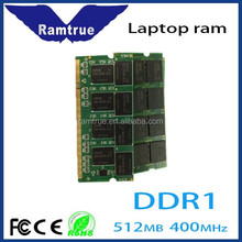 good price for DDR1 266/333/400MHz memory laptop ram 1gb 2gb 4gb