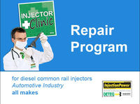 InjectionPower repair program for cr injectors