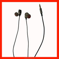 Latest metal earphone with microphone and volume remote for Android and iphone