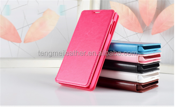 Wallet Folder Stand Flip Folio PU Leather Case Cover for LENOVO Smartphone