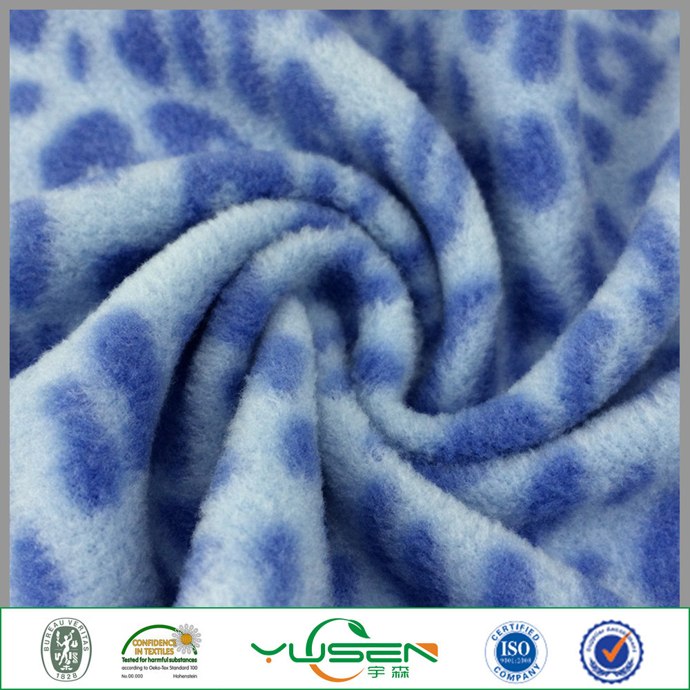 Knitted Technics and Polar Fleece Fabric Material for Jacket