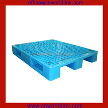 1200x1000x150mm 4 Ways 3 Runners Single Side Anti-skid HDPE Plastic Euro Rack Pallet
