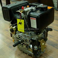 single cylinder long run time manual start 190f 250cc diesel engine