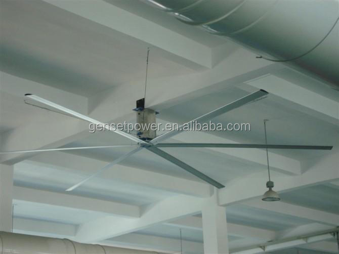 China 12ft high efficient hvls fans in fans & cooling