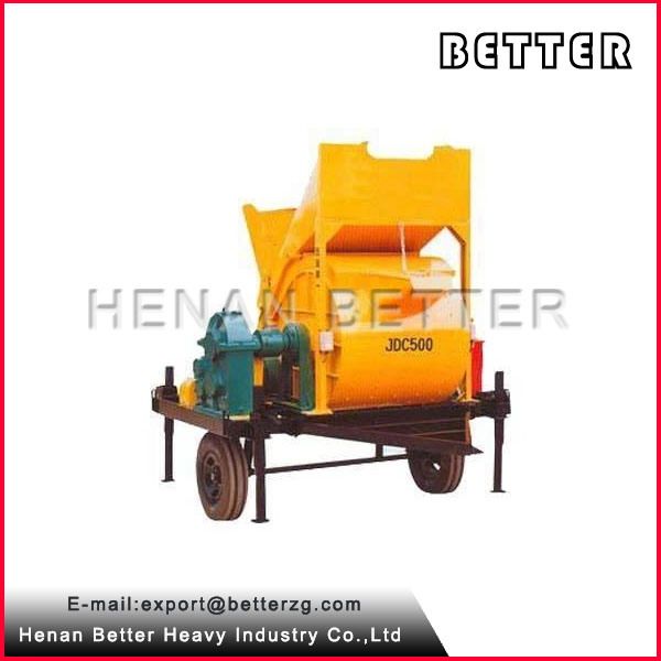 Better JDC500 3 yard concrete mixer for sale