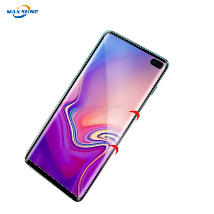 Maxshine Ultra-Thin High Definition Clear Tempered Glass Screen Protector For Samsung S10 S10E S10 Plus