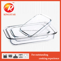 Ovenable pyrex glass baking tray, High Quality glass baking tray