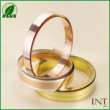 contact stamping materials silver inlay brass strip