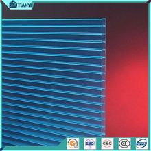 4Mm Transparent Double Wall Polycarbonate ,Two Layer Polycarbonate ,Twin-Wall Polycarbonate Roofing