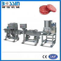 Hot sale industrial commercial automatic burger patty forming machine
