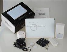 Burglar GSM alarm system with smart home function to anti thief and protect home security and safety
