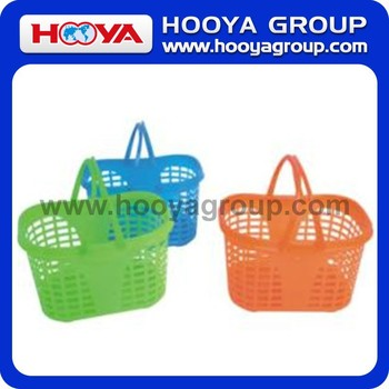 35.5*26*20CM Rectangular Shopping Basket With Handle