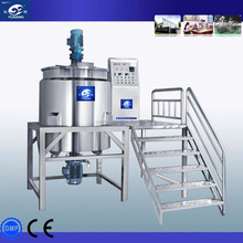 Machinery China stainless steel mixer for detergent making