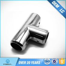 china Competitive Price tube 3 way stainless steel pipe connector