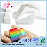 Wholesale Nail art fade effect sponge sponge manicure nail design nail art sponge stamp Manufactory Sample Free