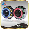 Hot Sale Double Angel eye lens kit H1 bulb,2.5inch 3inch hid bi xenon car motorcycle projector lens