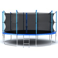 high Jump bed outdoor trampoline park with enclosure