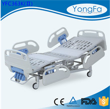 Automatic powder coating adjustable economy manual crank hi-lo hospital bed