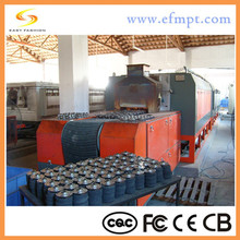 mesh belt automatic machine copper/iron based products sintering usage furnace