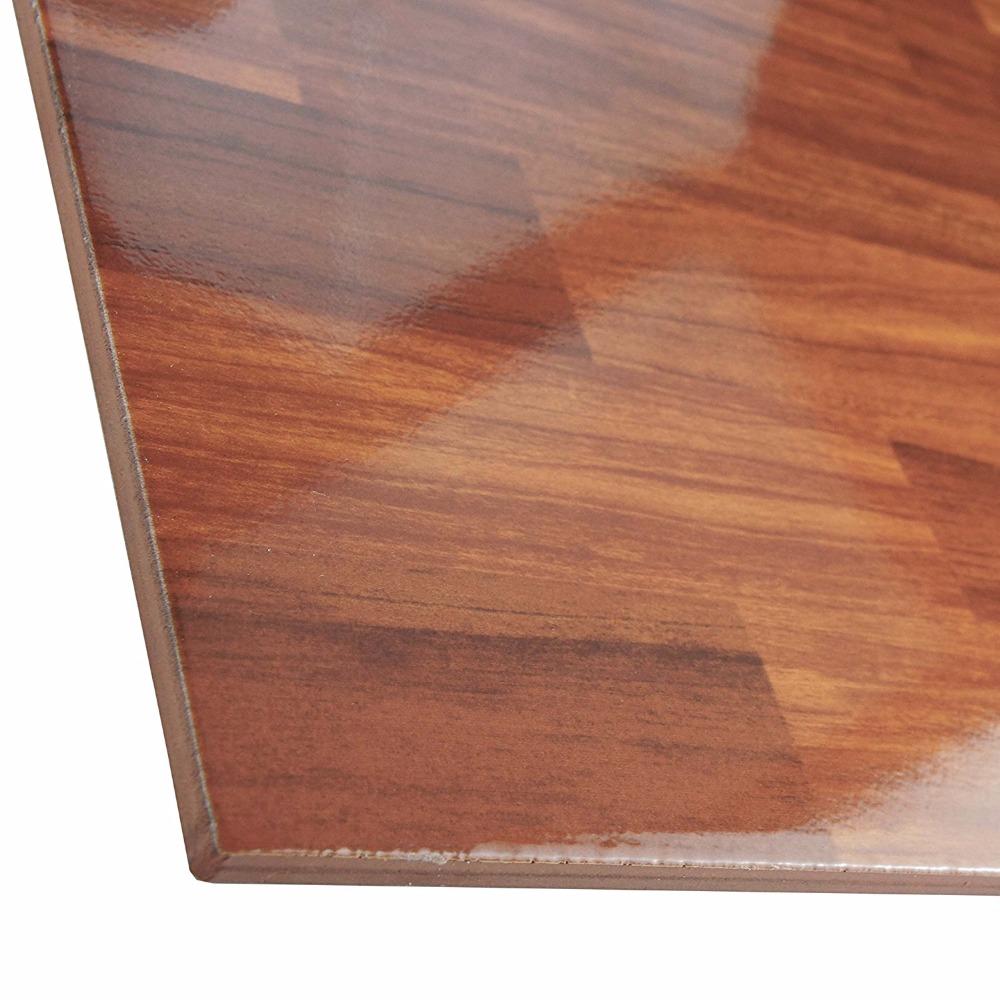 Red clay floor tiles