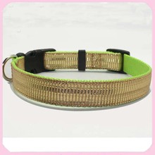 Hot Sale Quick Control Bamboo Fabric Dog Collars