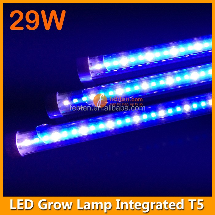 Indoor Gardening Lighting systems T5 Integrated Plant Lamp 29W LED grow light tube 4FT LED grow light Bar