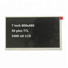 "7"" lcd hdmi 800x480 display/7 inch 800x480 lcd panel 1000 nit"
