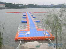 floating pontoon cube, plastic buoy