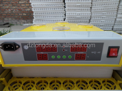 Chicken machines egg incubator/fish hatchery 48 eggs/pigeon accessories