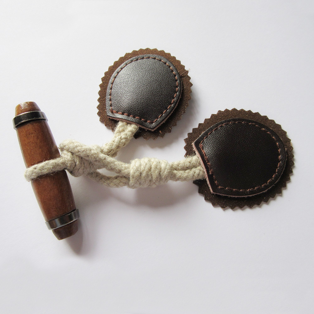 Fancy Leather Button Accessory, Custom Woodern Leather Button, Leather Jeans Button