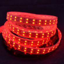 Waterpoof led strip 5 meters/reel,addressable dmx rgb led strip, 600 leds/reel double row 120led/m 5050 smd addressable 5050 rgb