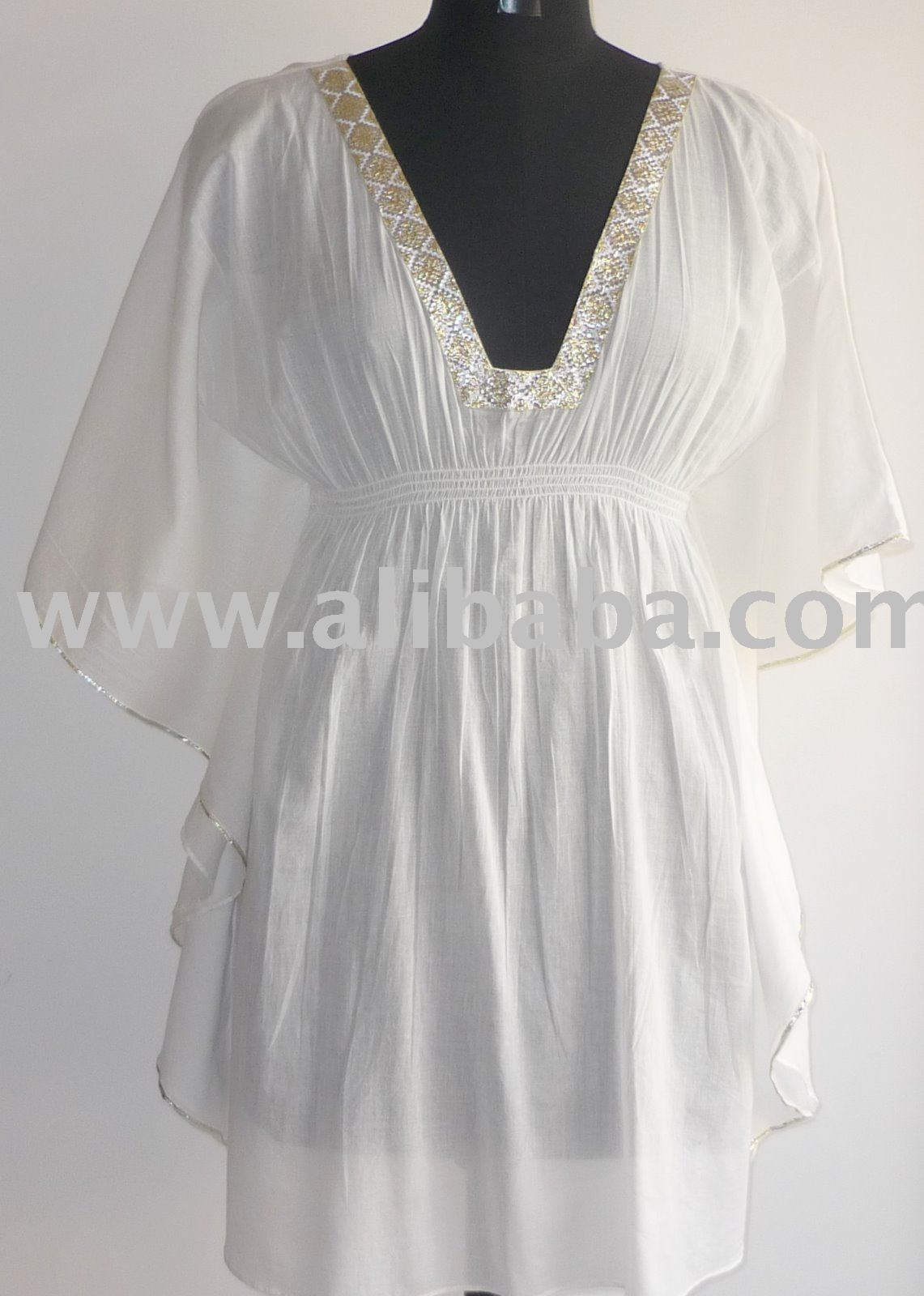 Plage caftan, Plage tunique, Plage Cover up, Robe caftan, Vêtements de plage, Kurti