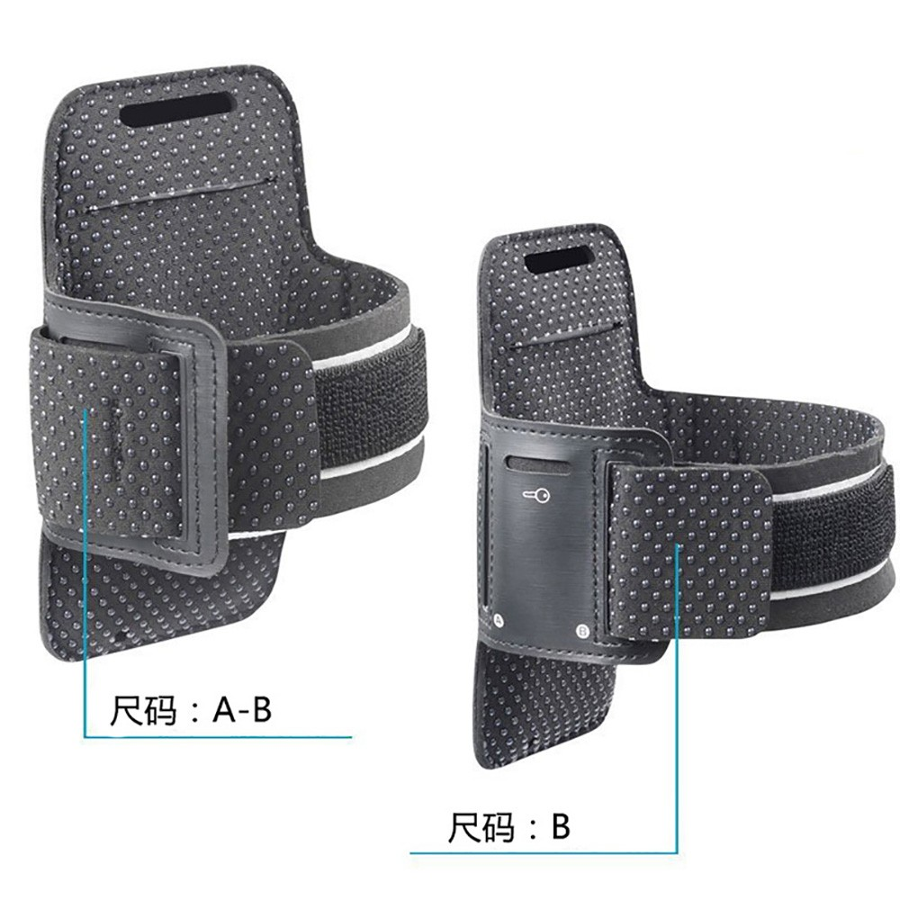 Running Jogging Waterproof Silicon Dots Mobile Cell Phone Sport Armband Case
