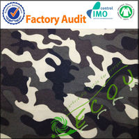 wholesale 100% polyester kinds of camouflage fabric for clothing