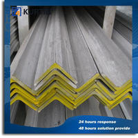 custom design tensile strength of steel angle bar with low price