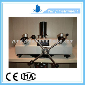 hight quality products piston dead weight tester