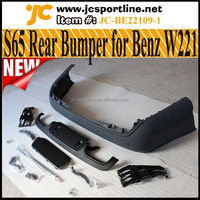 S Class S65 Rear Bumper of AMG Bodykit with LED DRL lights For Mercedes Benz W221