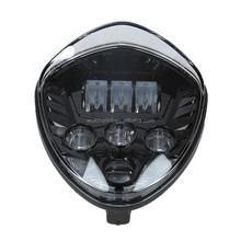 60W LED Headlamp High Low Beam Victory Headlights 12V Motorcycle Led headlights For Polaris Victory Motorcycle