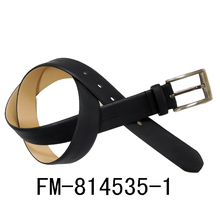 FM brand customized men leather belt wholesale leather belt for man classic pu buckle genuine leather belt