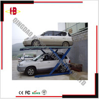underground parking lift for car parking garage
