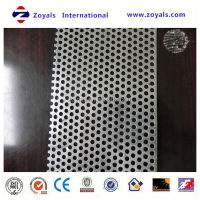 hot-selling low price aluminum perforated plastic mesh panel (ISO9001 factory)