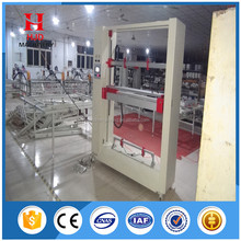 Coating machine for screen frame