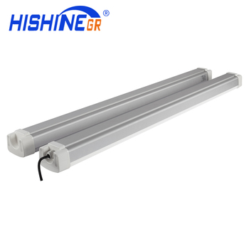Waterproof ip65 Emergency tri proof led 50w 60w 1200mm replace t8 led tube light fixture 4ft